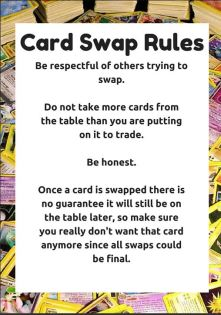 card swap rules